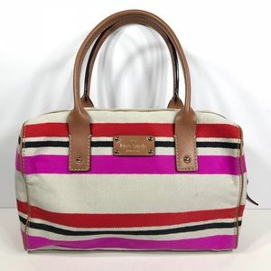 KATE SPADE New York Kaleigh Oak Island Stripe Bag